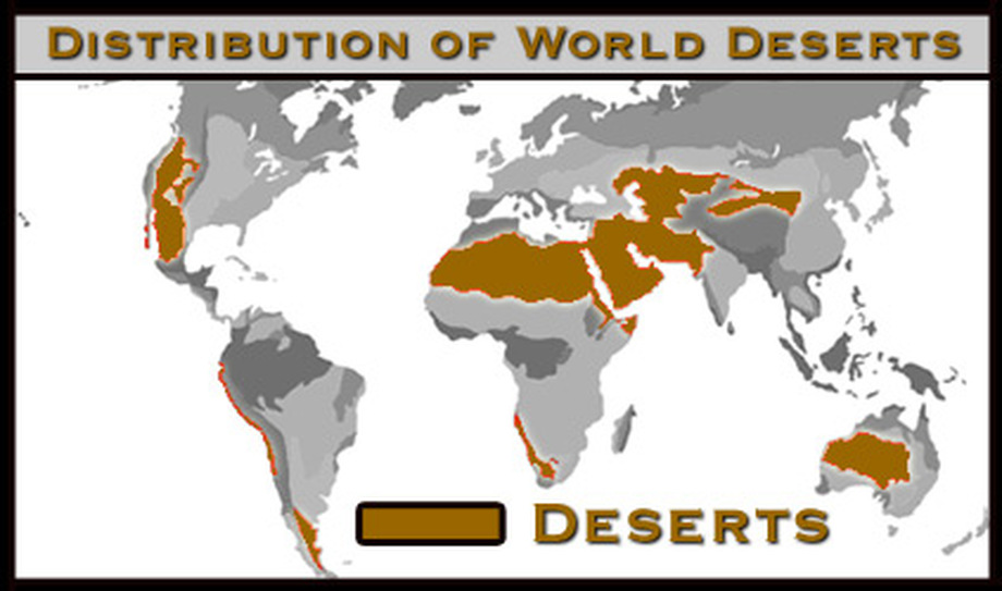 Desert Biome Map Biome Map   Desert Biome Desert Biome Map